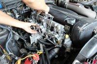 スカイラインGT-Rアイドリング不調修理作業の画像