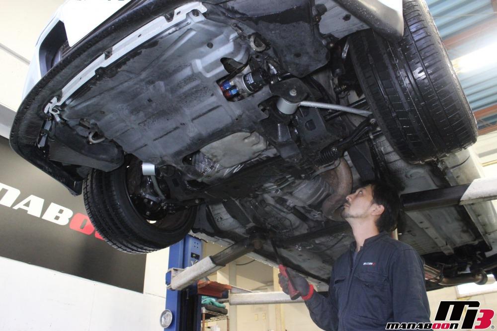 スカイラインGT-R(BNR32)車検点検整備作業の画像