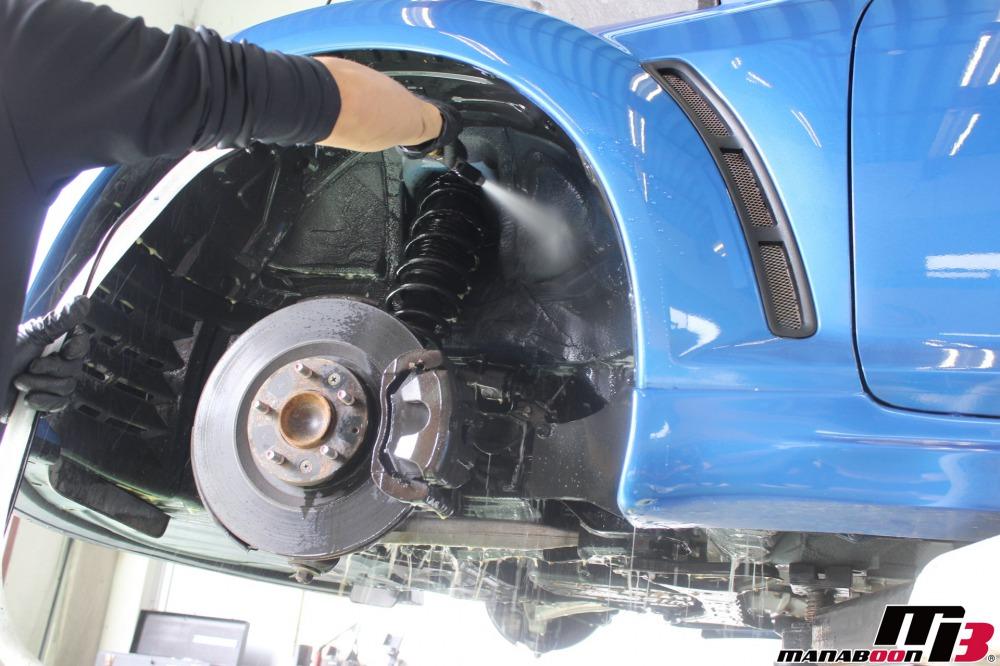 RX-8(SE3P)車検点検整備作業の画像