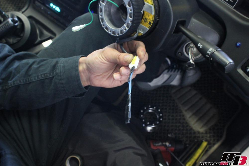スカイラインGT-R(BCNR33)チェックランプ点灯修理作業の画像
