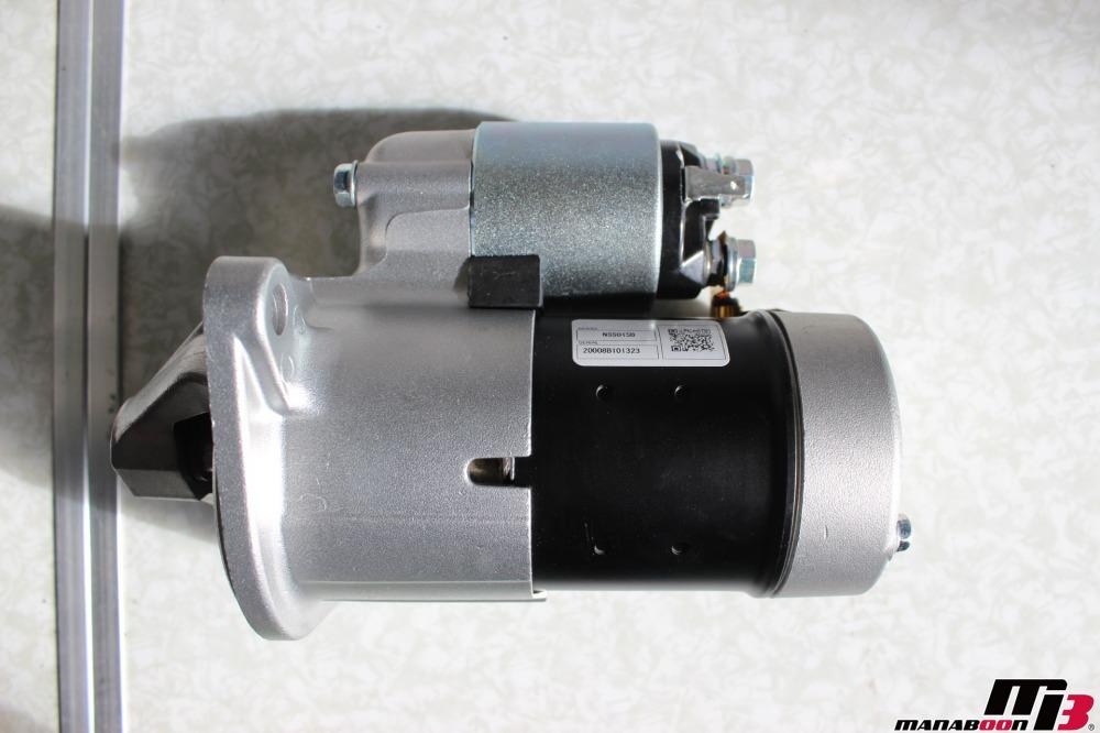 スカイラインGTRオルタネーター交換作業の画像