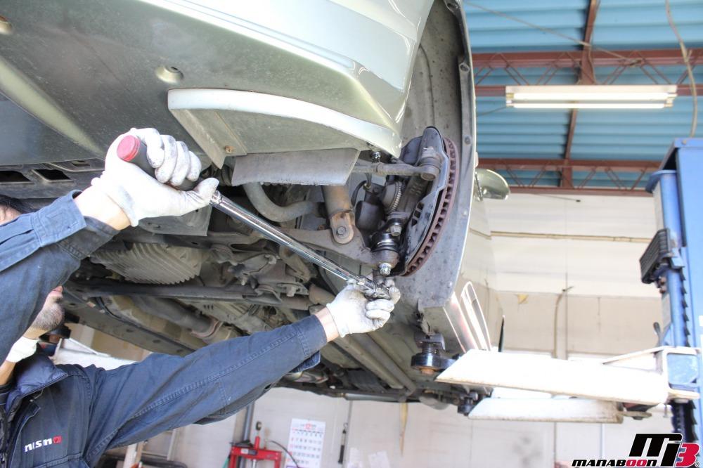S2000車検の点検整備作業の画像