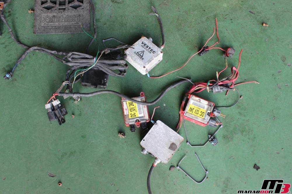 スカイラインGT-Rバンパー交換作業の画像