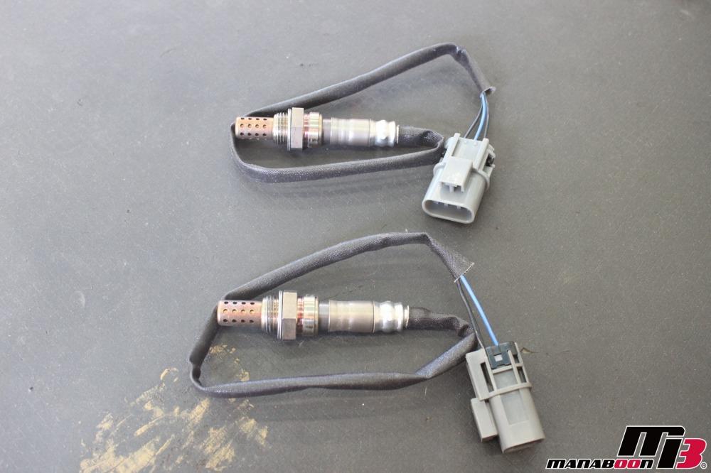 スカイラインGT-RO2センサー交換作業の画像