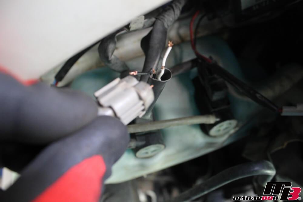 スカイラインER34点検整備作業の画像