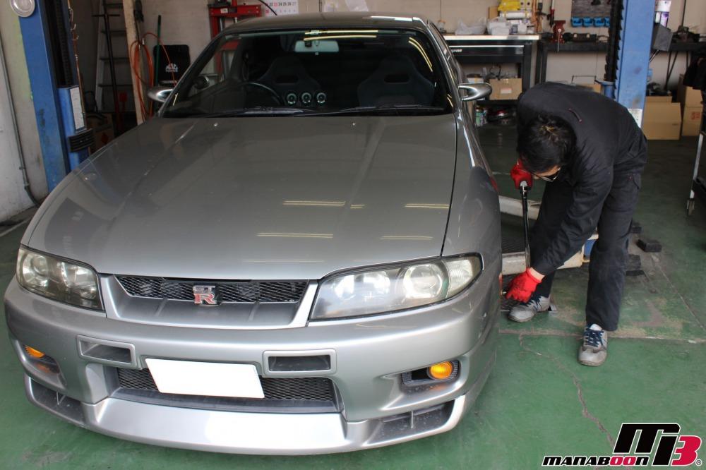東京神奈川千葉埼玉チューニングカー点検整備作業の画像