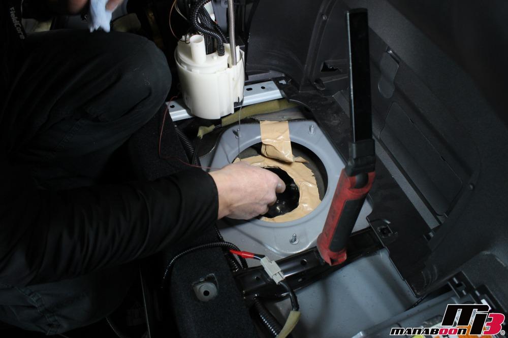 フェアレディZ(Z34)パーツ取付作業の画像