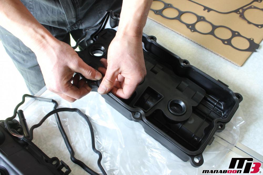 フェアレディZタペットカバー交換作業の画像