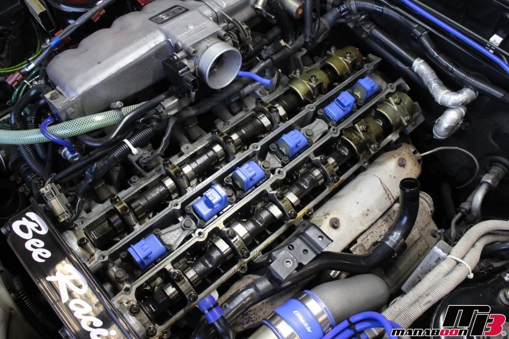 R32スカイライン点検整備作業の画像