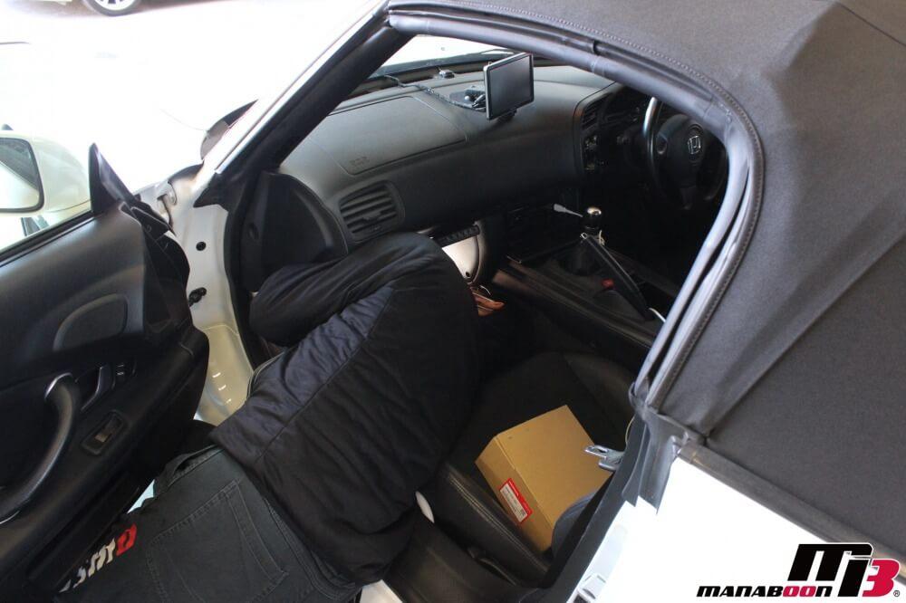 S2000パワーステアリング修理作業の画像