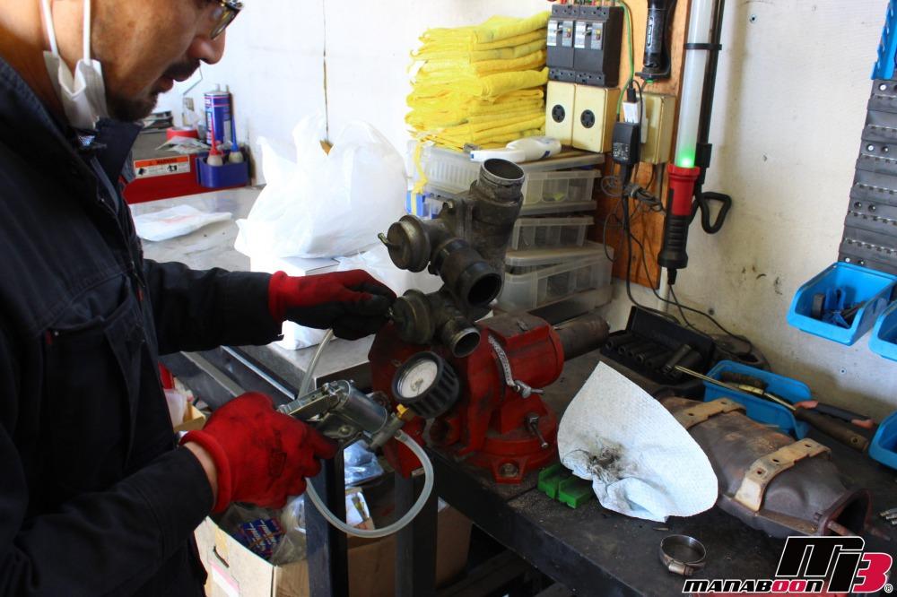 スカイラインGT-R不調修理点検整備作業の画像
