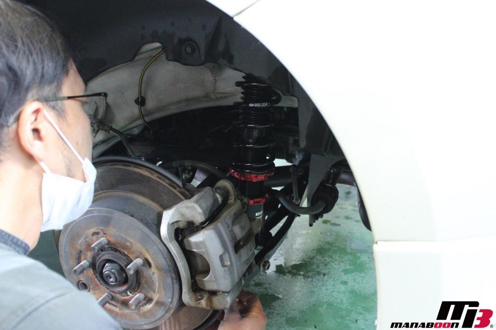86BRZ車検点検整備作業画像