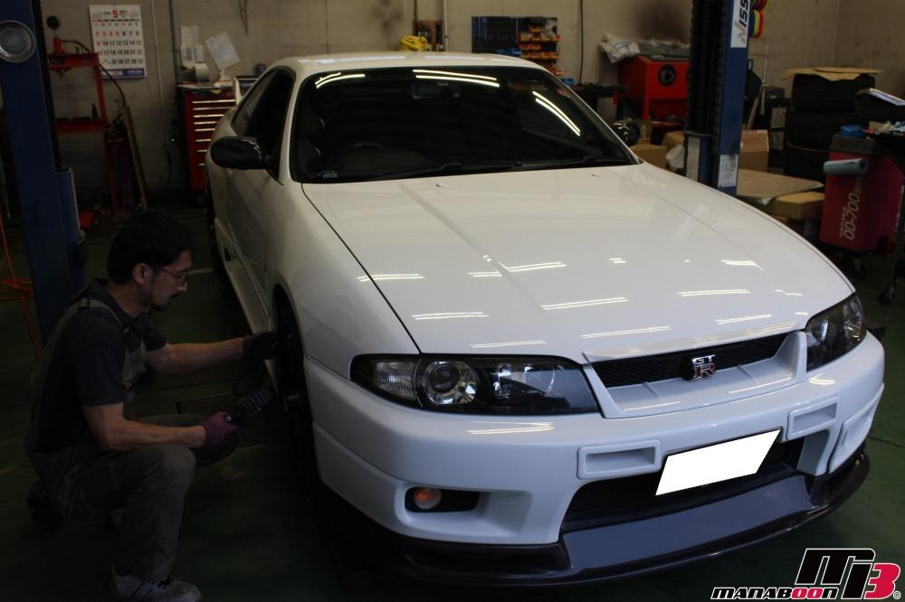 スカイラインGT-R車検点検整備画像