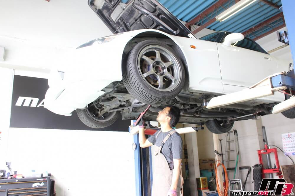 S2000車検点検整備作業画像
