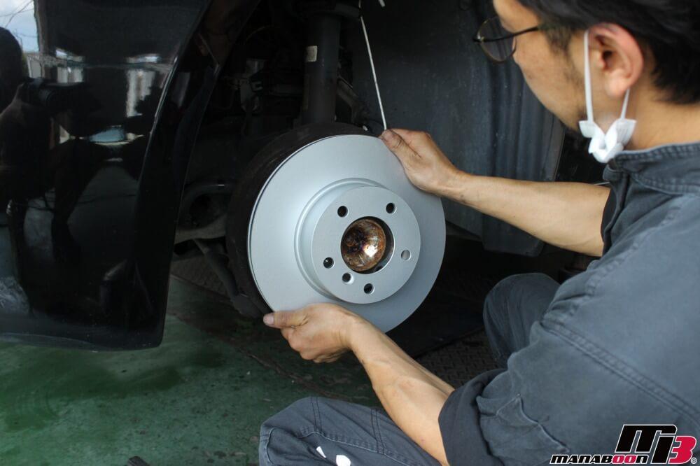 BMW車検点検整備作業画像
