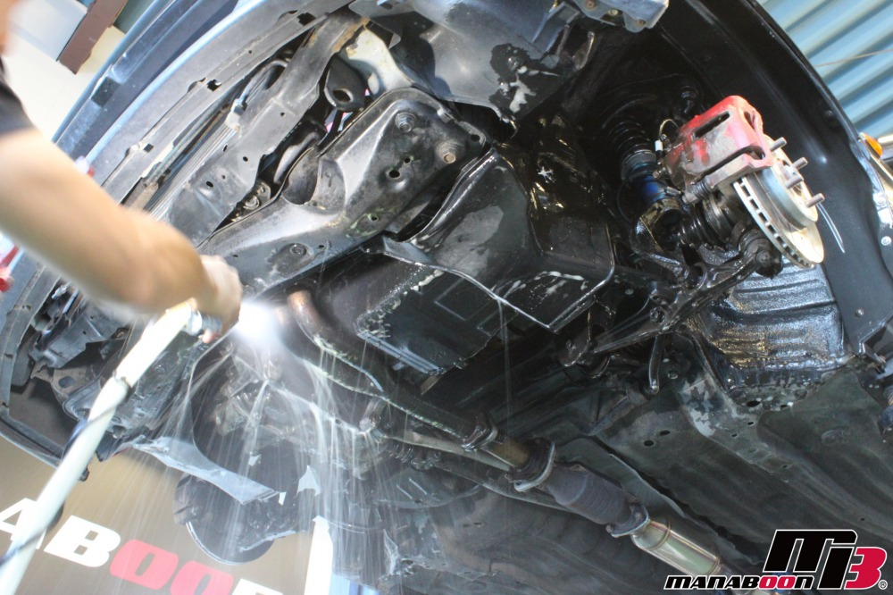 CR-X(EF8)点検整備作業の画像