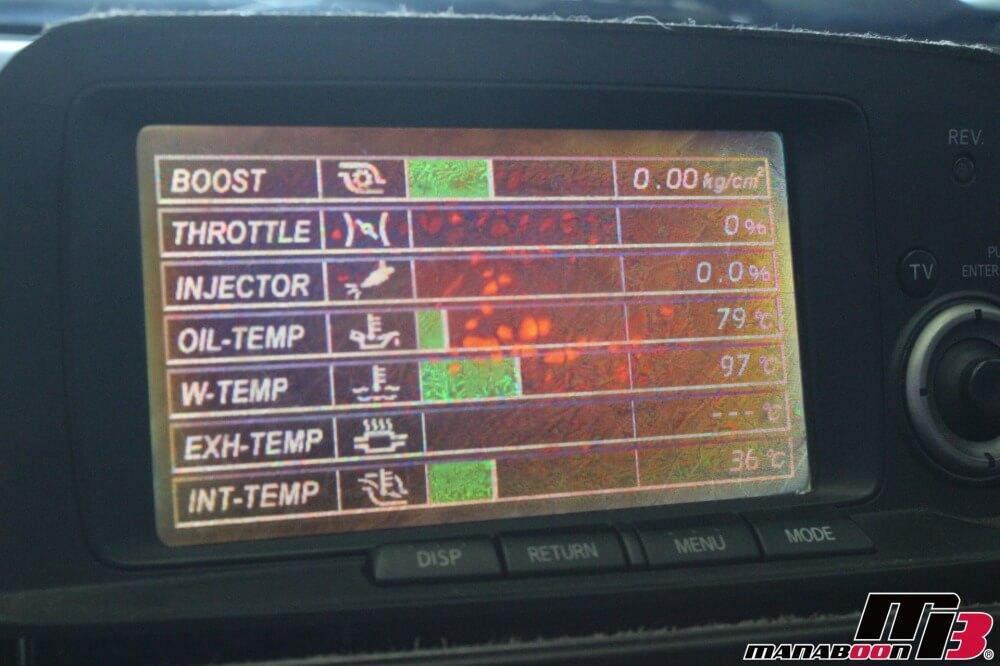 スカイラインGT-R(BNR34)MFD修理作業画像