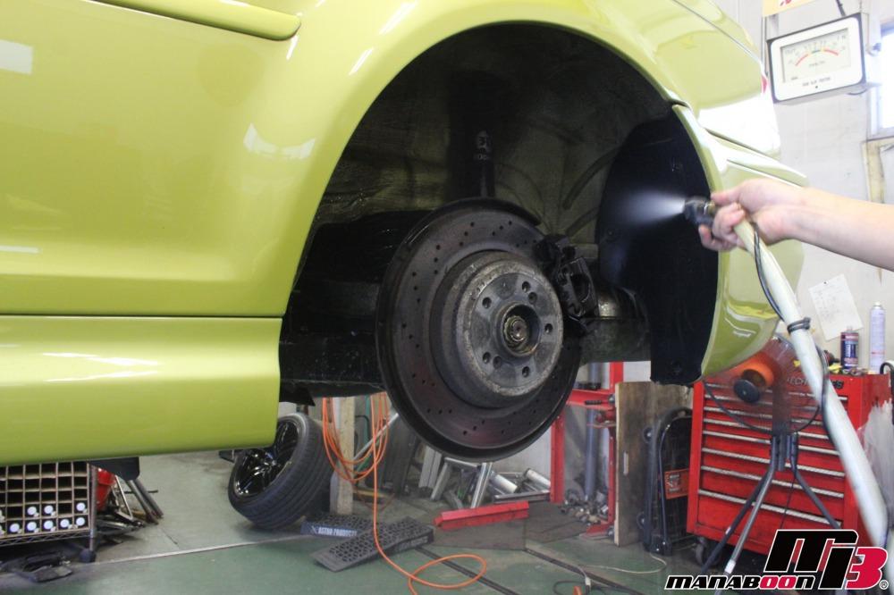 E46M3車検点検整備作業画像