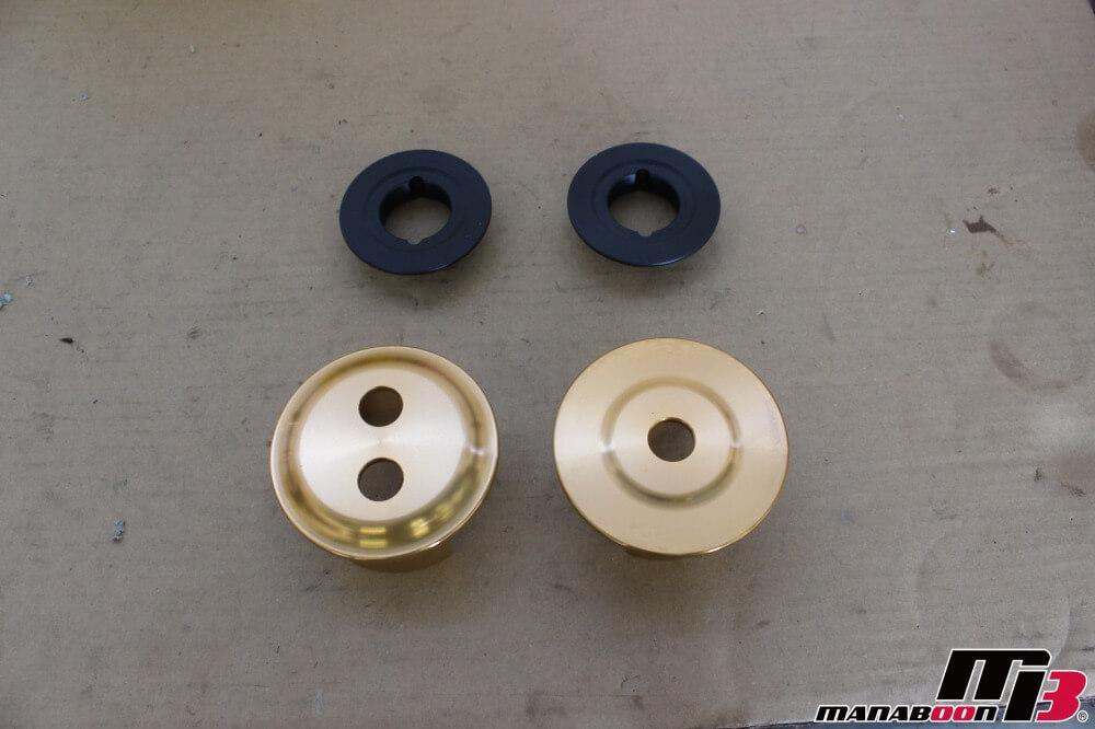 86(ZN6)メンバーカラー取付作業画像